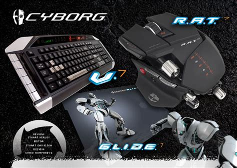 Cyborg Gaming V7 Keyboard Rat 7 Mouse And Glide