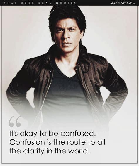 profound shah rukh khan quotes  prove