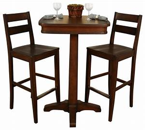 American Heritage Taylor 3-Piece Pub Table Set with Tyler