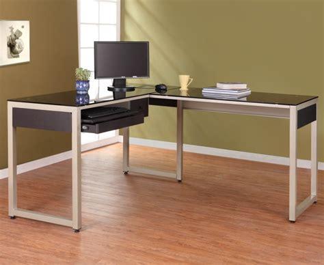 glass l shaped desk popular glass l shaped desk glass l shaped desk style