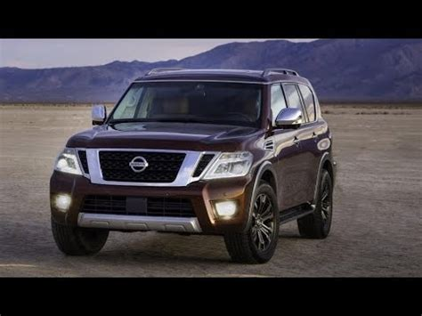 2019 Nissan Armada Review Youtube