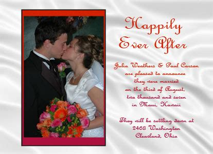 wedding announcement cards wedding invitations wedding