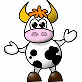 Cow Clip Art at Clker.com - vector clip art online, royalty free ...