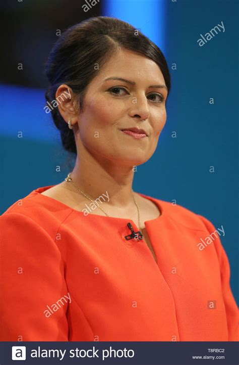 Priti Patel High Resolution Stock Photography and Images ...
