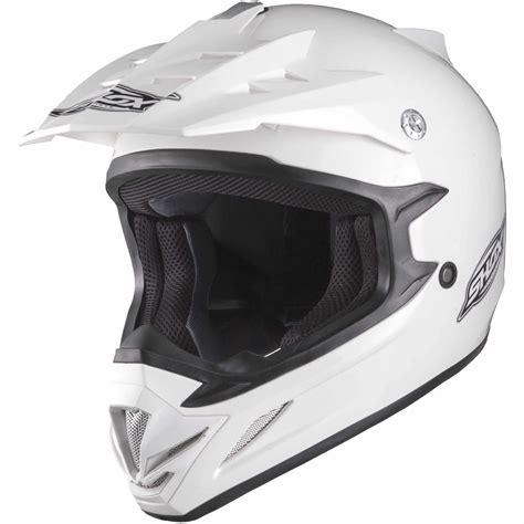 white motocross helmets shox mx 1 solid white motocross helmet quad off road mx