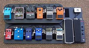 Overdrive Custom Guitar Works- Pedalboard 1