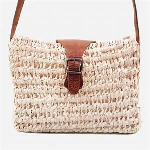 Sac En Paille Original : sac paille pas cher sac de plage femme en paille a rayures ~ Melissatoandfro.com Idées de Décoration
