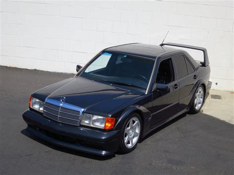 Back in may 1990, mercedes revealed a fully electric 190 e at the hanover fair. 1990 Mercedes-Benz 190E EVO II for sale #98511 | MCG