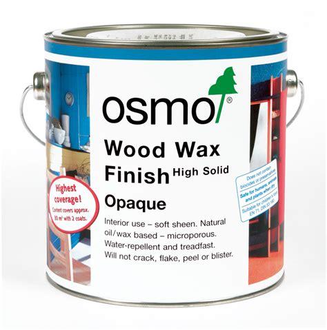 wood wax osmo wood wax finish opaque