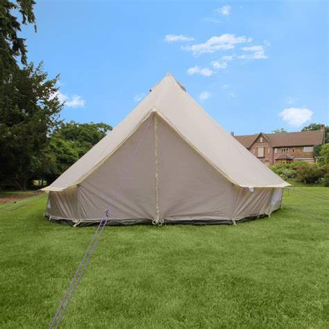 5m lightweight zipped in ground sheet bell tent tents from boutique cing uk