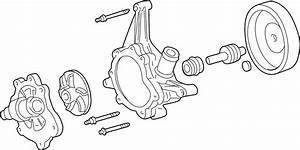 Lincoln Ls Engine Water Pump Assembly