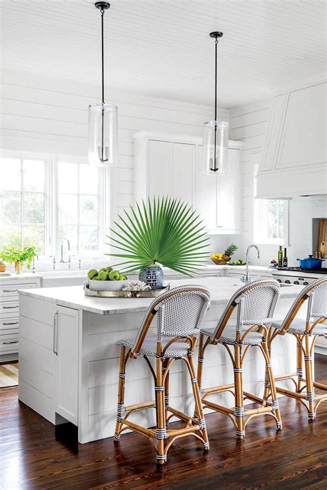 water coastal kitchen 15 ways with shiplap southern living 3358