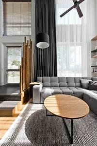 loft contemporain a vilnius de design scandinave With tapis de gym avec malma canapé d angle