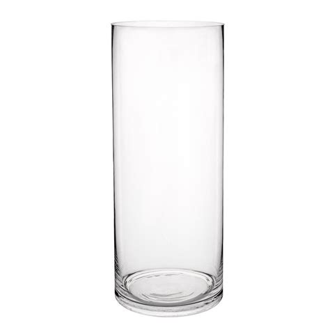 chambre de fille vase cylindrique en verre h 40 cm maisons du monde