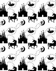 Unicorn Wall Stencil