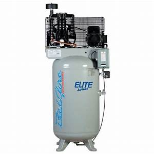 3 2hp Ul 240v Horizontal Air Compressor 60 Gal