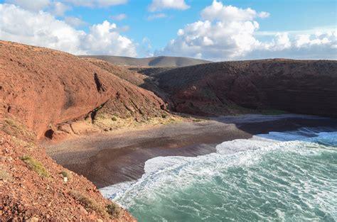 Cycling along the coast of Legzira, Morocco | Taken on 28 ...