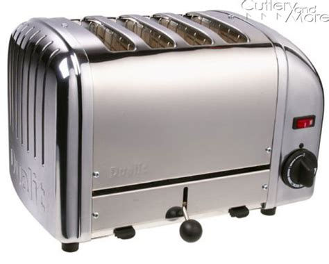 Dualit Vario 4 Slice Toaster - dualit vario professional toaster 4 slice chrome