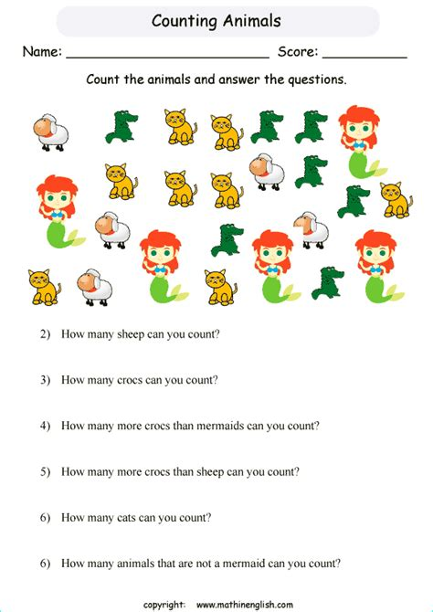 count  animals  answer  math question
