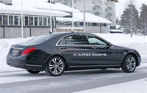 lifted mercedes sedan facelifted mercedes benz s class test mule caught on camera