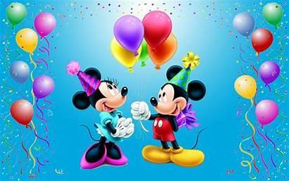 Mickey Mouse Birthday Happy Disney Mini Desktop