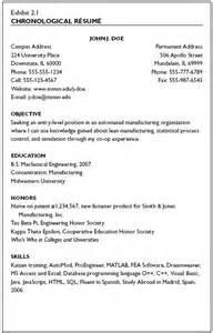 Chronological Resume Purpose by The Chronological R 233 Sum 233 Enjoy