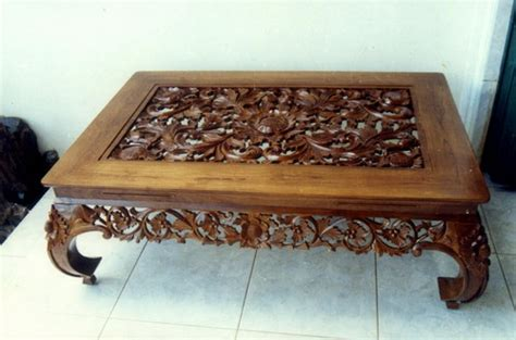 The Major Consideration When Choosing Carved Coffee Tables