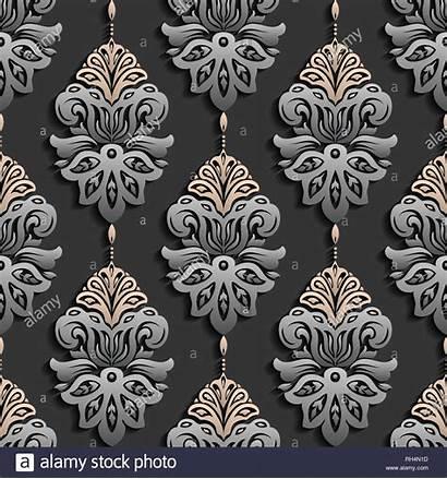 Seamless Texture Elegant Luxury Paper Dark Pattern