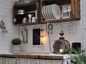 Idee Deco Avec Des Photos : 20 id es d co et r cup 39 avec des cagettes en bois des id es ~ Zukunftsfamilie.com Idées de Décoration