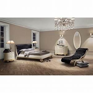 Chambre Adulte De Luxe Feuille D39or Et D39argent Chaise