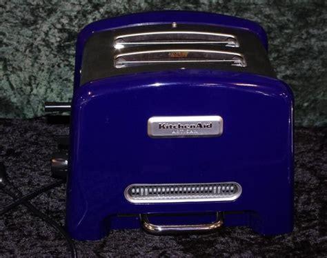 kitchenaid artisan toaster cobalt blue kitchenalia