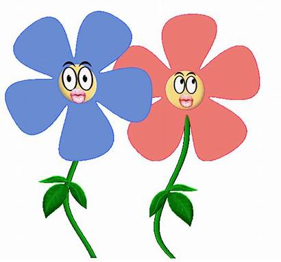 Flower Dancing Flowers Animation Animated Clipart Clip