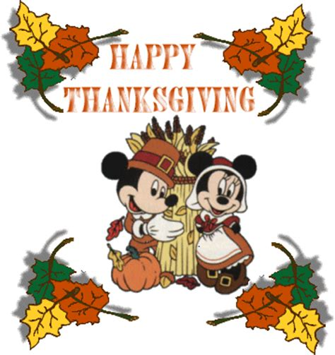 mickey  minnie happy thanksgiving thanksgiving