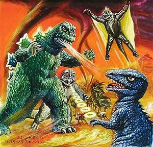 Image - Godzilla-minya-gorosaurus-varan.jpg | Wikizilla ...