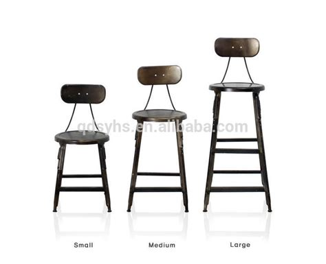 Cheap Metal Furniture Stackable Bar Bistro Steel Stools