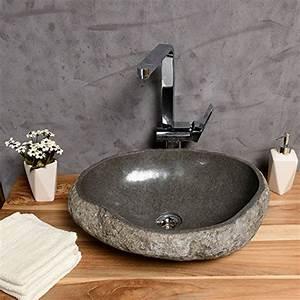 Waschbecken Oval Aufsatz : aufsatz waschbecken natur stein 40 cm oval natur waschbecken aus stein naturstein ~ Orissabook.com Haus und Dekorationen