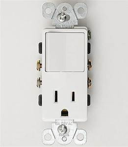 Single Pole Decorator Switch Outlet 15a Plug Light Switch