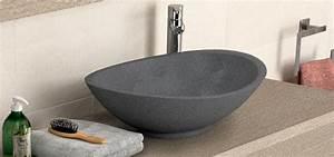 vasque a poser ovale vasque a poser ovale nel aquarine pro With salle de bain design avec vasque à poser diametre 30