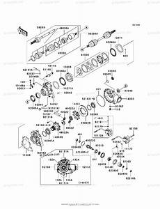Kawasaki Atv 2004 Oem Parts Diagram For Drive Shaft