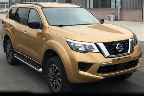 Nissan Terra Picture by 2018 Nissan Terra Outed As Navara Based Wagon