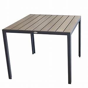 Gartentisch Non Wood : aluminium gartentisch 90x90cm esszimmertisch esstisch k chentisch alutisch aluminiumtisch mit ~ Eleganceandgraceweddings.com Haus und Dekorationen