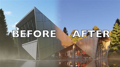 Lumion 8 Pro Before/after Render Tutorial Ultramodern