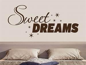 Wandtattoo Sweet Dreams : wandtattoo sweet dreams no 1 von klebeheld ~ Whattoseeinmadrid.com Haus und Dekorationen