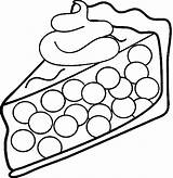 Pie Coloring Pages Cream Cherry Dessert Whipped Clipart Ice Sandwich Desserts Printable Template Piece Clipartpanda Topping Clip 1701 1101 Strawberry sketch template