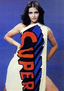 Margot Kidder in a Superman dress 1970s   POP Art ...