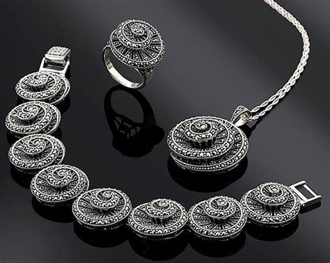Everything You Should Know About Marcasite Jewelry - The ...