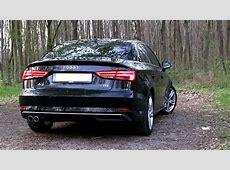 2017 Audi A3 Sedan 20 TDI 150 HP TEST DRIVE YouTube
