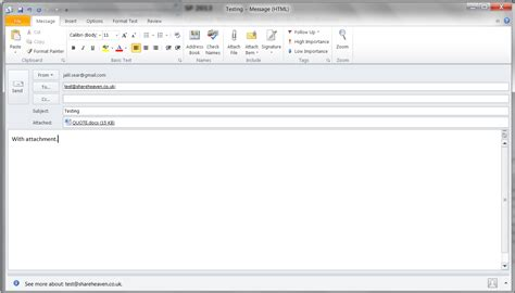 What To Put In An Email When Sending A Resume by Sharepoint 2010 Configuring Incoming Emails On A Production Environment Non Exchange Server