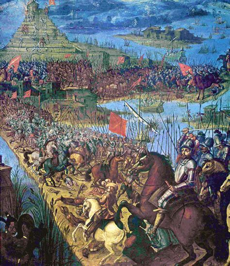the siege tenochtitlan