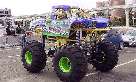 monster trucks for kids video mini monster truck sema 2013 youtube